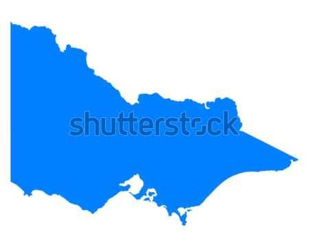 Pokaż sycylia niebieski wyspa wektora odizolowany Zdjęcia stock © rbiedermann