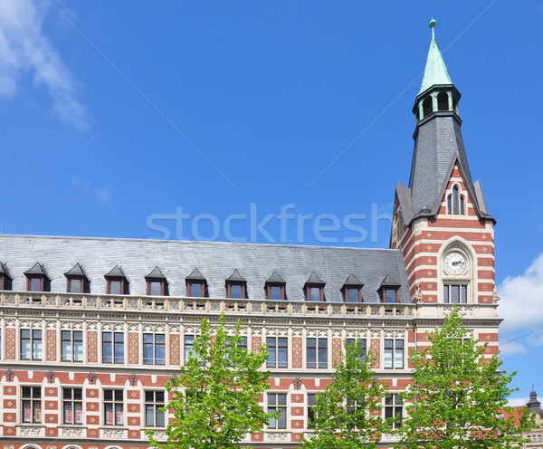 Principale bureau de poste bureau Voyage tour ville Photo stock © rbiedermann