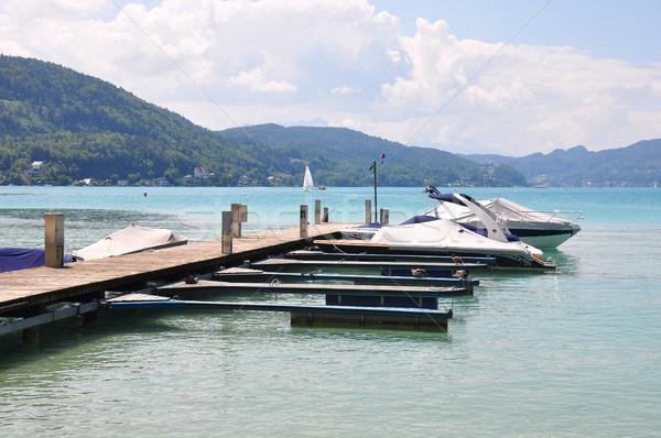 Lake Woerthersee in Carinthia, Austria Stock photo © rbiedermann