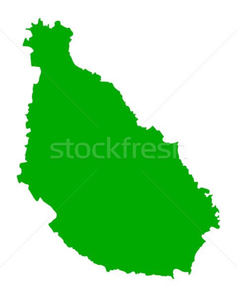 地図 サンティアゴ 緑 ベクトル 孤立した 実例 ストックフォト © rbiedermann