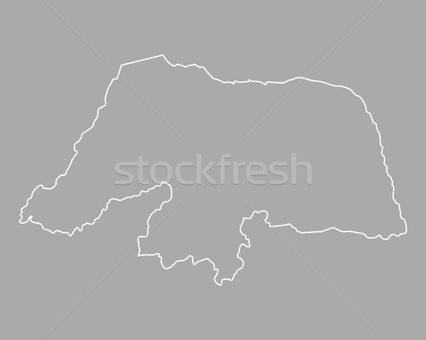 Harita rio vektör Brezilya yalıtılmış gri Stok fotoğraf © rbiedermann
