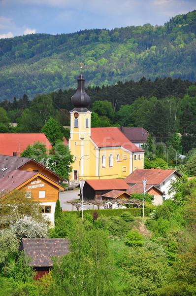 Chrich Saint Martin in Haunkenzell, Bavaria Stock photo © rbiedermann