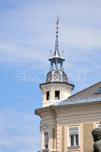 Histórico edifício Áustria viajar arquitetura Foto stock © rbiedermann
