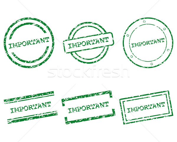 Important stamps Stock photo © rbiedermann