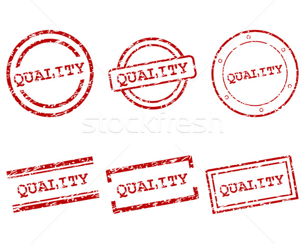 Quality stamps Stock photo © rbiedermann