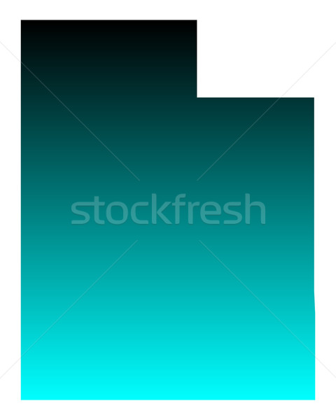 Map of Utah Stock photo © rbiedermann