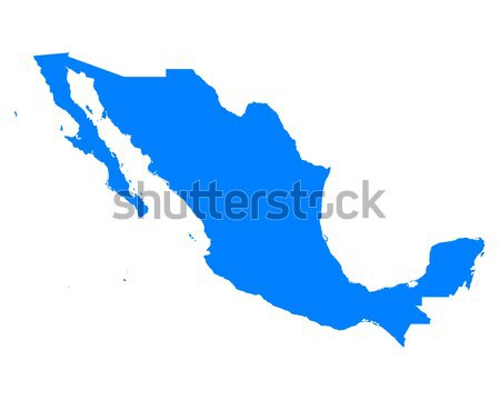 Map of Mexico Stock photo © rbiedermann