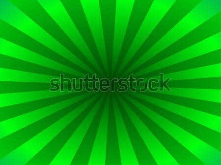 Green rays Stock photo © rbiedermann