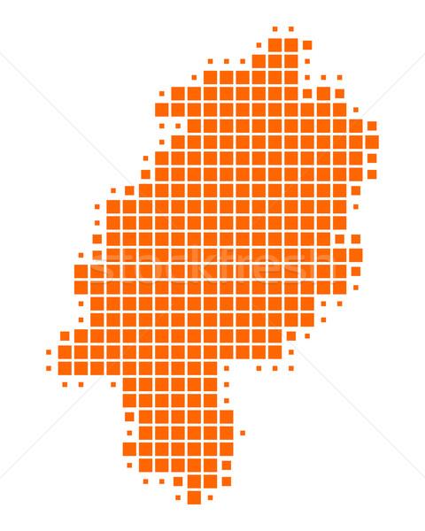 Map of Hesse Stock photo © rbiedermann