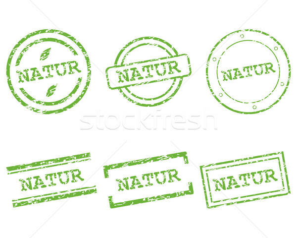 Natur stamps Stock photo © rbiedermann