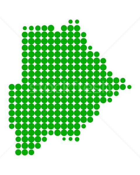 Pokaż Botswana wzór kółko punkt Zdjęcia stock © rbiedermann