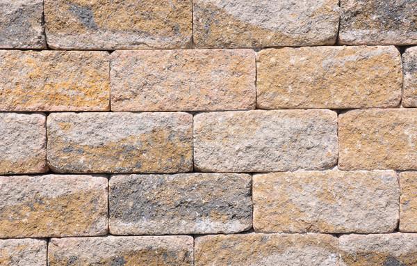 Tuğla duvar duvar arka plan taş tuğla model Stok fotoğraf © rbiedermann