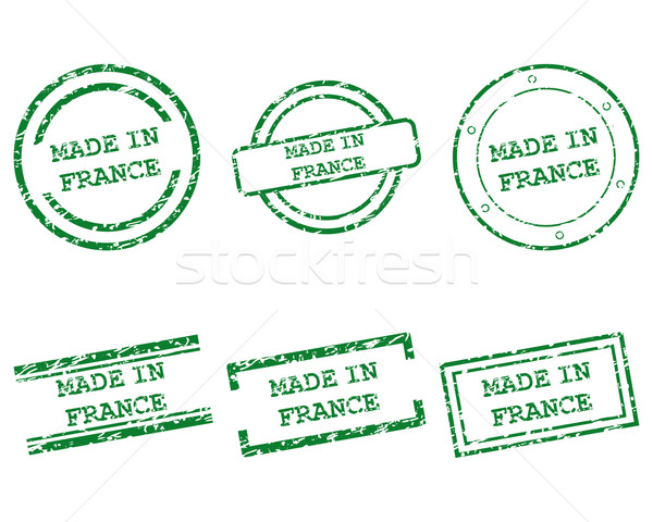 Made in France stamps Stock photo © rbiedermann