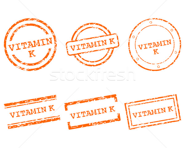 Vitamin K stamps Stock photo © rbiedermann