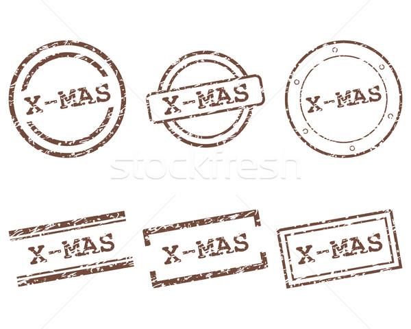 X-mas stamps Stock photo © rbiedermann