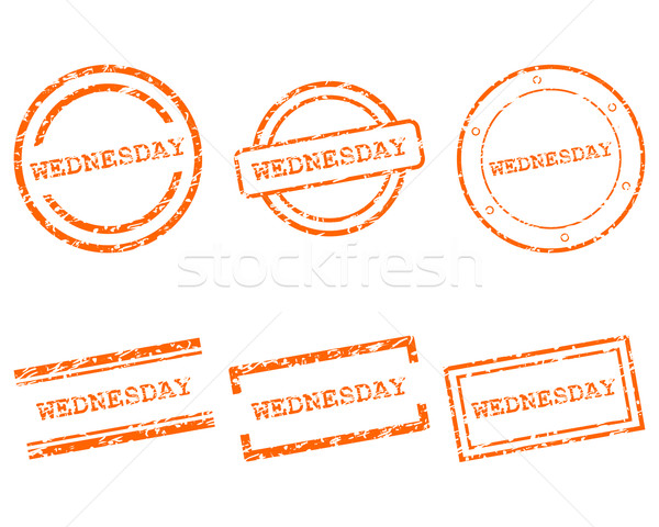Wednesday stamps Stock photo © rbiedermann