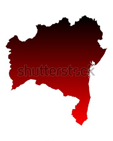 Map of Lower Austria Stock photo © rbiedermann