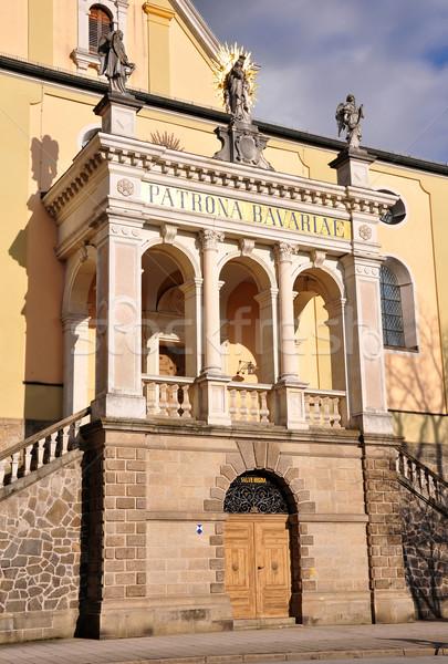 Portal iglesia verano viaje arquitectura Europa Foto stock © rbiedermann