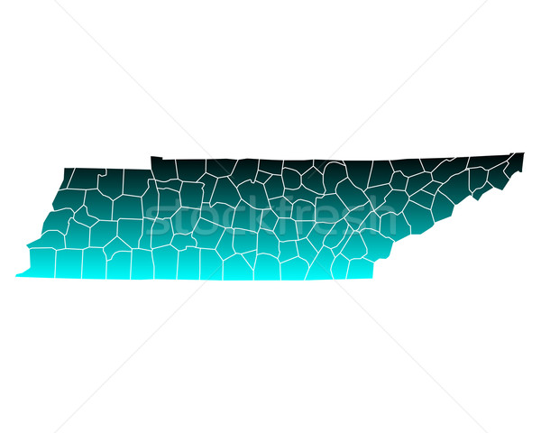 Pokaż Tennessee zielone niebieski podróży USA Zdjęcia stock © rbiedermann