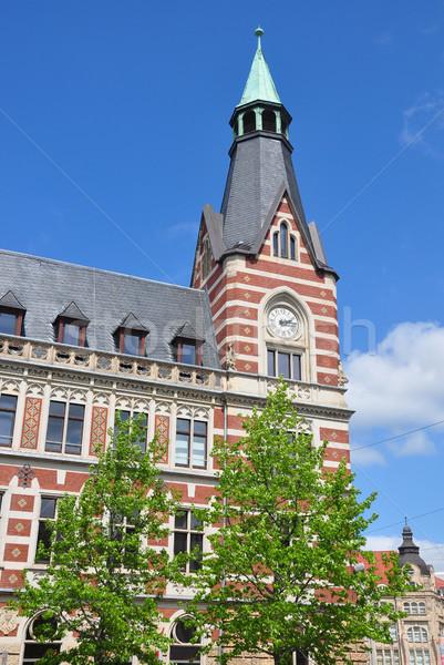 Główny poczta biuro podróży wieża po Zdjęcia stock © rbiedermann