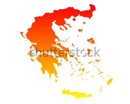 Map of Philippines Stock photo © rbiedermann