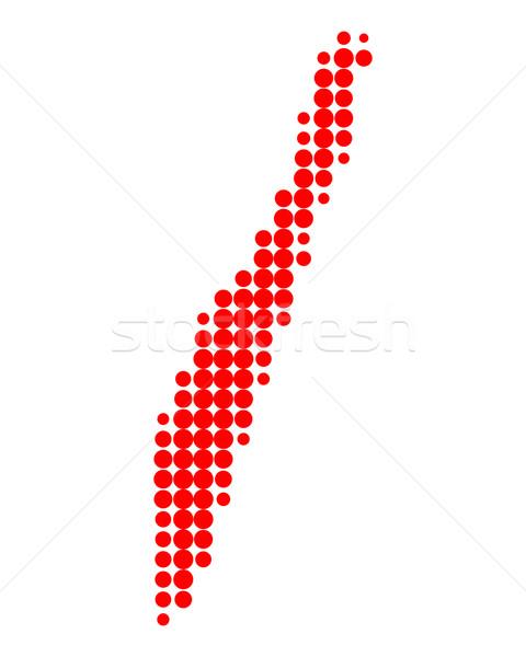 Map of Oeland Stock photo © rbiedermann