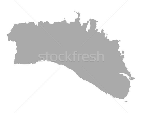 Map of Menorca Stock photo © rbiedermann