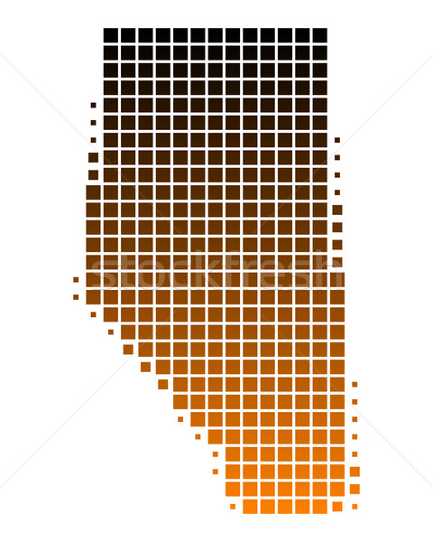 Térkép utazás minta tér Kanada illusztráció Stock fotó © rbiedermann