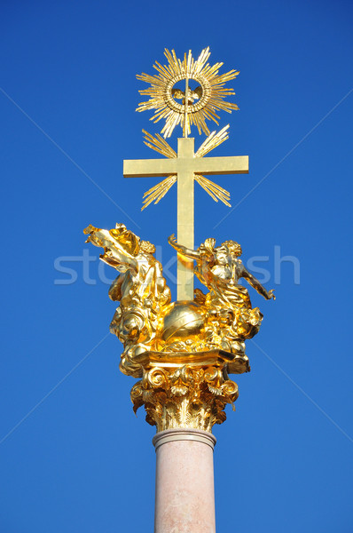 Trinity Column in Straubing, Bavaria Stock photo © rbiedermann