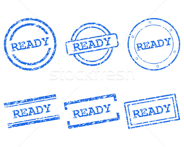 Ready stamps Stock photo © rbiedermann