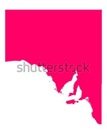 Carte Caroline du Nord Voyage Amérique pourpre isolé Photo stock © rbiedermann