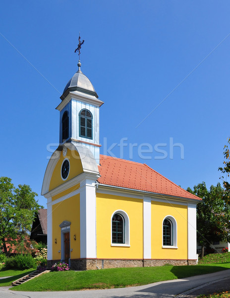 Church in Rossegg, Styria, Austria Stock photo © rbiedermann