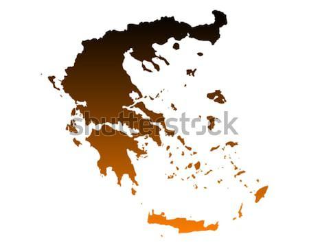 Mapa Filipinas fundo linha vetor Foto stock © rbiedermann