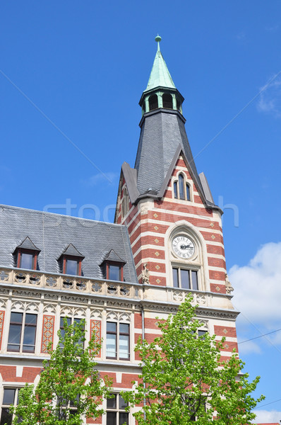 Principal oficina de correos oficina viaje torre post Foto stock © rbiedermann