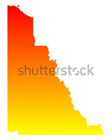 Map of Idaho Stock photo © rbiedermann
