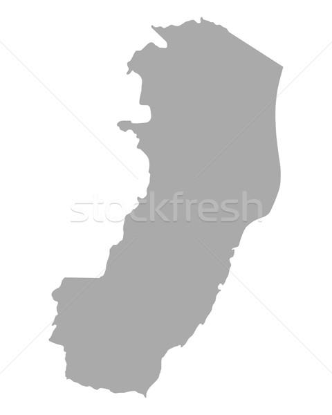 Map of Espirito Santo Stock photo © rbiedermann