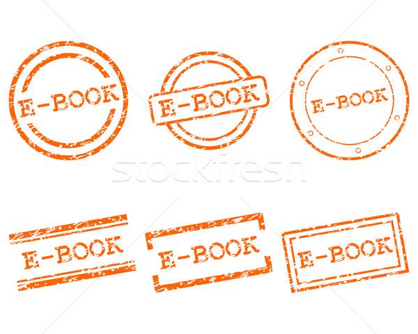 Ebook selos carimbo gráfico membro selar Foto stock © rbiedermann