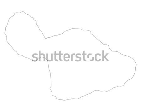 карта Уругвай фон изолированный иллюстрация Сток-фото © rbiedermann