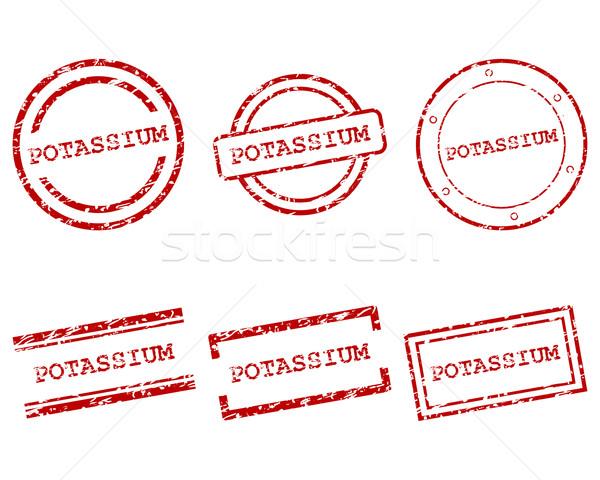 Potassium stamps Stock photo © rbiedermann