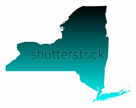 Térkép New York utazás rózsaszín Amerika lila Stock fotó © rbiedermann