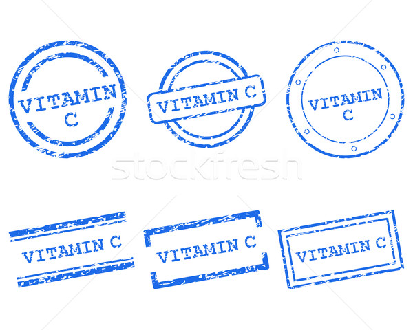 Vitamin C stamps Stock photo © rbiedermann