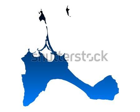 Stock photo: Map of Formentera