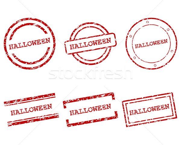 Halloween stamps Stock photo © rbiedermann
