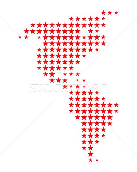 Map of America Stock photo © rbiedermann