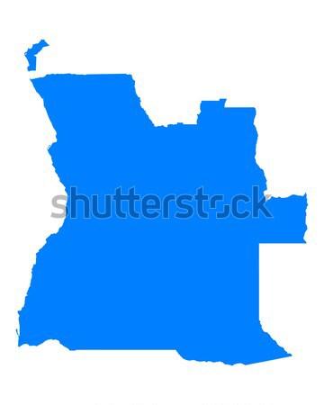Harita Idaho mavi seyahat Amerika ABD Stok fotoğraf © rbiedermann