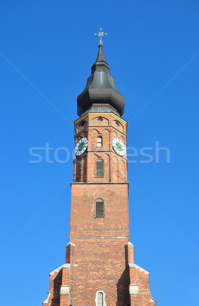 Basilica Sankt Jakob in Straubing, Bavaria Stock photo © rbiedermann