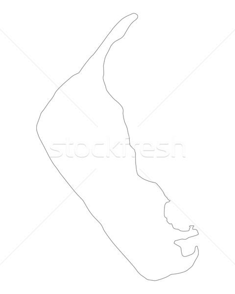 карта вектора Германия изолированный иллюстрация серый Сток-фото © rbiedermann