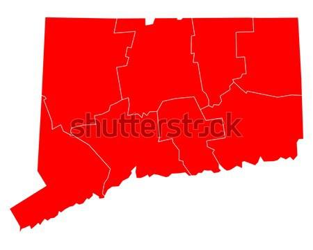 Pokaż Maine podróży czerwony USA odizolowany Zdjęcia stock © rbiedermann