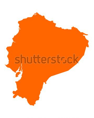 Map of Minas Gerais Stock photo © rbiedermann