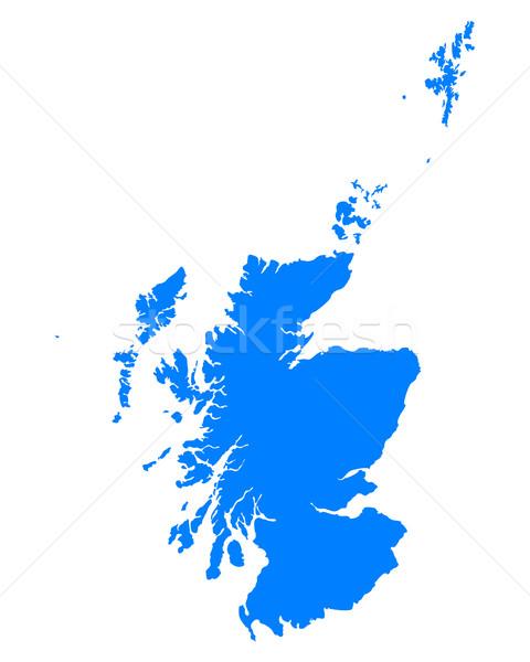 Pokaż Szkocji tle niebieski line Zdjęcia stock © rbiedermann